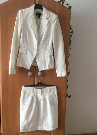 Нарядний літній костюм Mango Suit