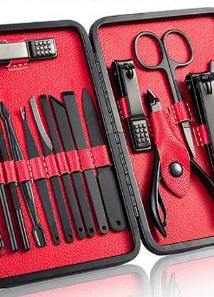 Маникюрный профессиональный набор для ногтей, 18 в 1