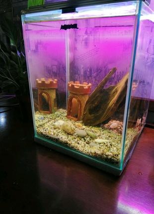 Продам аквариум  акваэль куб 30л
