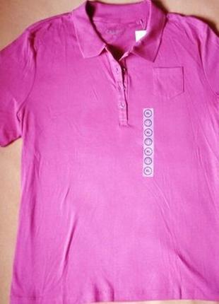 Жіноча футболка-поло xl від німецького виробника c&a