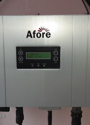 Працюючий мережевий інвертор 1кВт Afore HNS1000TL-1