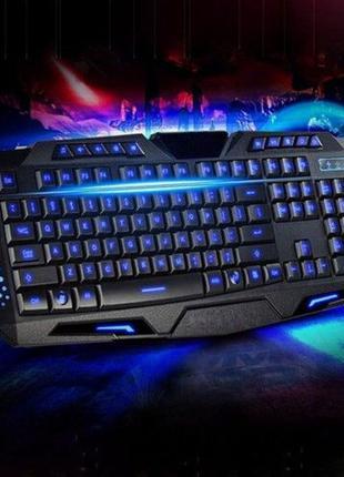 Игровая клавиатура Magic Wings M200 с подсветкой, 3 Цвета подс...