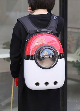 Рюкзак сумка с иллюминатором, для кошек и собак. 4 расцветки