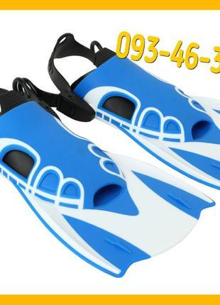 Спортивные короткие ласты для быстрого плавания AquaSpeed L, М