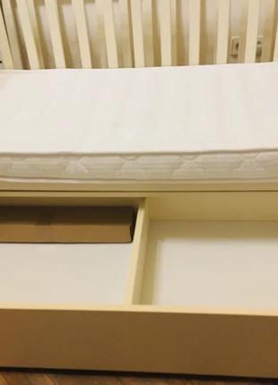 Детская кроватка Верес Соня с маятником и ящиком