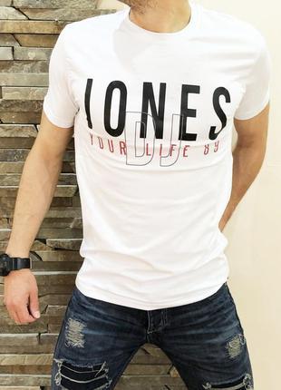 Футболка jones white