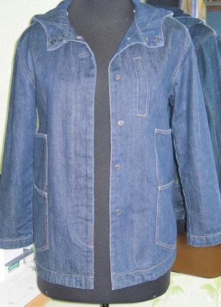 Джинсовая куртка, весна-осень