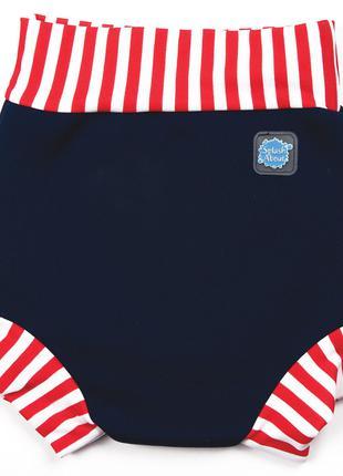Splash about плавки-подгузник Happy nappy, неопрен. large