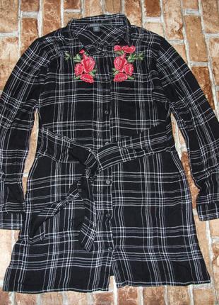 платье рубашка девочке 11 - 12 лет Primark