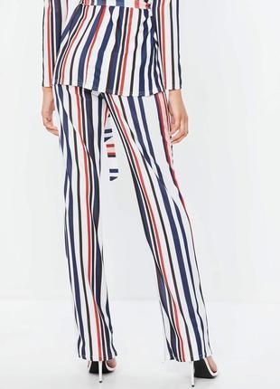 Супер брюки в полоску от  missguided
