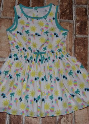 нарядное платье девочке 1 - 2 года Marks&Spencer