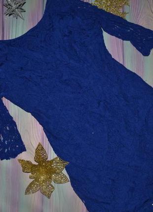 Женское платье  гипюр 46-48 размер