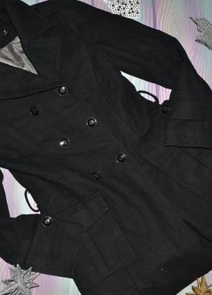 Пальто драповое размер 36(44-46