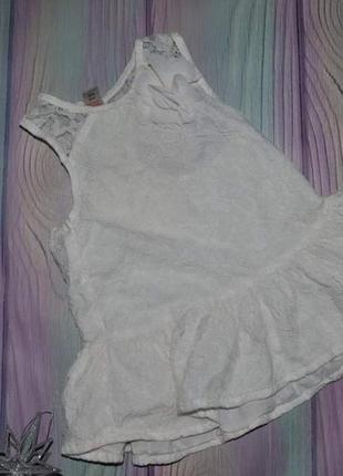 Блуза майка ажурная  на 3 года