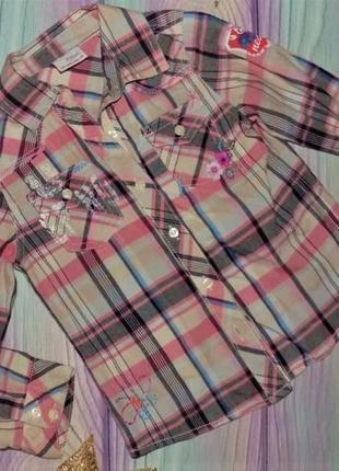 Рубашка некст на 4-5 лет