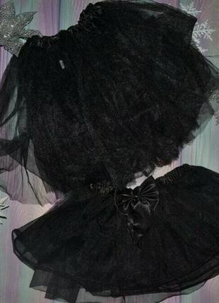 Фатиновая юбка на 10-13 и 7-8 лет