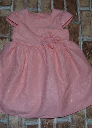 нарядное платье девочке 1  -  2 года Mothercare