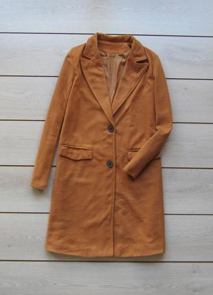Удлиненное легкое пальто