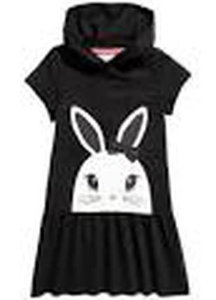 платье хлопковое зайка  девочке 3 - 4 года H&M