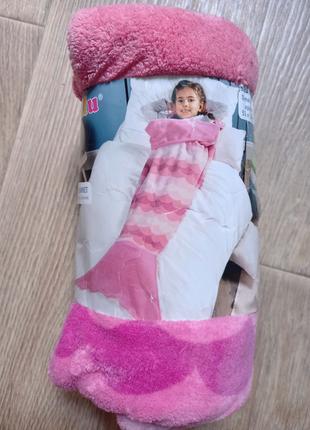 Новый детский плюшевый плед спальный мешок лупилу LUPILU