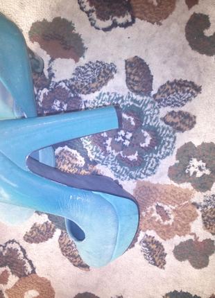 Туфлі зелені