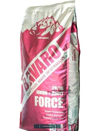 Продам сухой корм для собак BAVARO(JUNIOR+ABULT)18кг