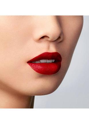 Классическая красная помада armani lip maestro 400