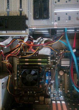 Продам системный блок PhenomII X4 955,GTX 1050(гарантия),8 ГБ RAM
