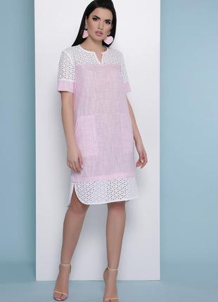 Лёгкое льняное платье* 100% хлопок* отличное качество*