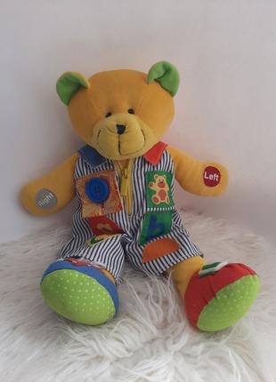 Мягкая игрушка медведь обучение английскому