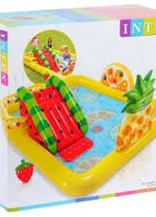 """Детский надувной игровой центр """"Веселый фрукт"""" Intex 57158 NP, 24"""