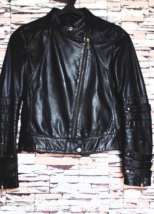 Mango 🔥🔥🔥 куртка - косуха кожаная  р- xs-s