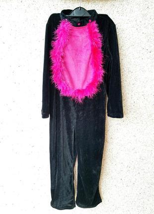 Маскарадный карнавальный костюм кошки на новый год 5-7лет