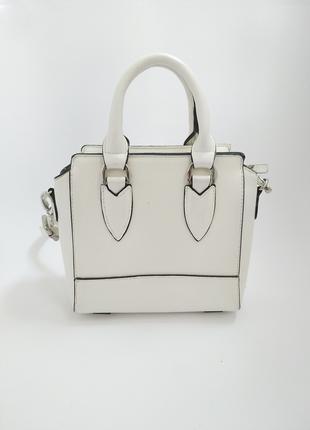 Белая сумка FAITH
