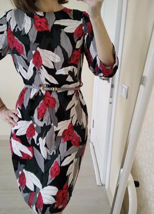 Платье миди цветочный принт stockh lm р.46(м)
