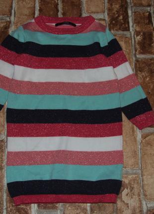 теплое платье девочке 1 - 2 года George