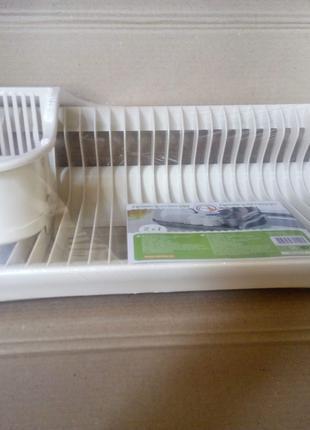 Сушка для посуды 2в1