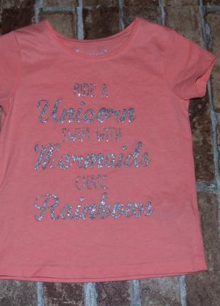 футболка девочке 4 - 5 лет Primark