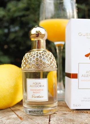 Mandarine Basilic  Guerlain Aqua Allegoria_Распив и Отливанты Ори