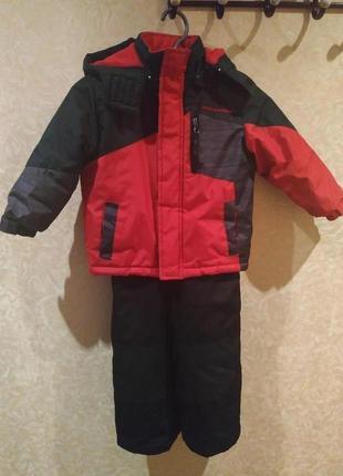 Зимний комплект (комбез+куртка)