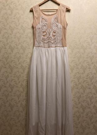 Vip летнее платье вечернее сарафан