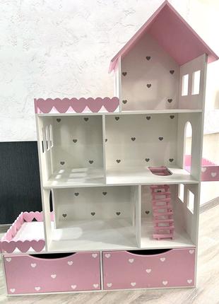 Кукольный домик, домик для кукол, домик для кукол барби, детский