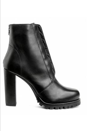 Ботинки h&m кожа р 40