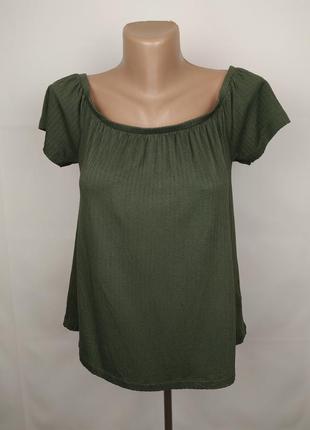 Блуза топ новая хаки модная primark s