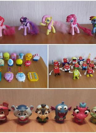 Игрушки McDonalds Время приключений, лошадки Пони my Little pony