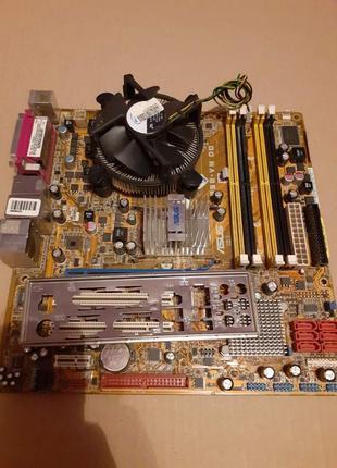 Комплект Socket 775 ASUS P5E-VM DO+Core™2 Duo E7400 Чипсет Q35