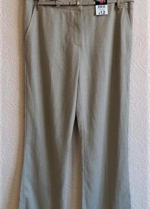 Льняные брюки george