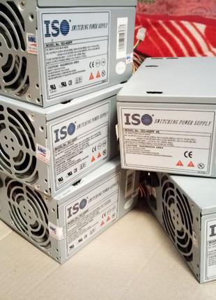 Блоки питания ISO 450PP 4S 350W есть SATA