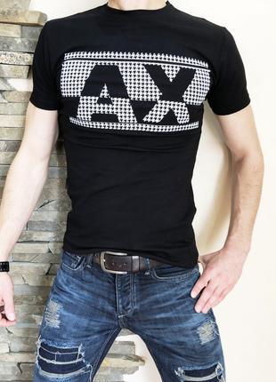 Футболка AX black