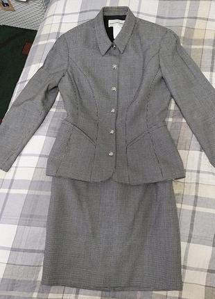 Костюм, жакет,юбка ,люкс mugler